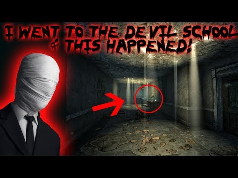 I WENT TO THE HAUNTED DEVIL SCHOOL AND THIS IS WHAT HAPPENED! (GONE WRONG)