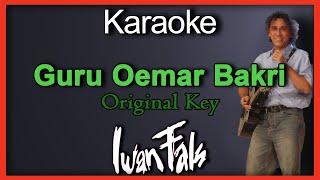 Guru Oemar Bakrie (Karaoke)