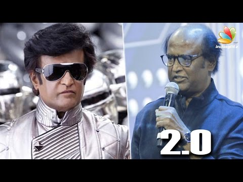 Chitti & Karan Johar's Funny interview at 2.0 First Look Launch | Robo, Rajinikanth, Shankar
