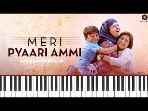 Meri Pyaari Ammi (Secret Superstar) Piano Lesson ~ Piano Daddy