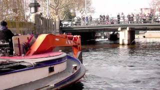 Amsterdam Canals, Dredging Bikes & Treasures (HD)