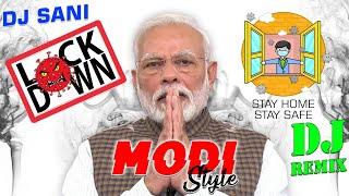 Modi Style 👊 GO CORONA | 🚔 Police Trance Mix | Dj Remix | Dj Sani | Appeal Stay Home Stay Safe |