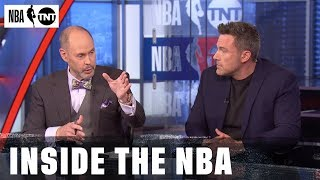Ben Affleck Joins the Desk | NBA on TNT