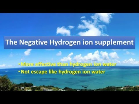 The power of the Negative Hydrogen Ion powder