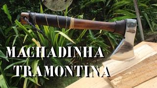 Customização de Machadinha  - Tramontina thumbnail