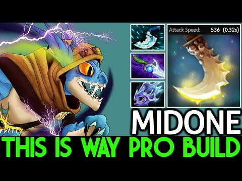 Midone [Slark] This is way Pro Build Max Attack Speed 7.21 Dota 2 thumbnail