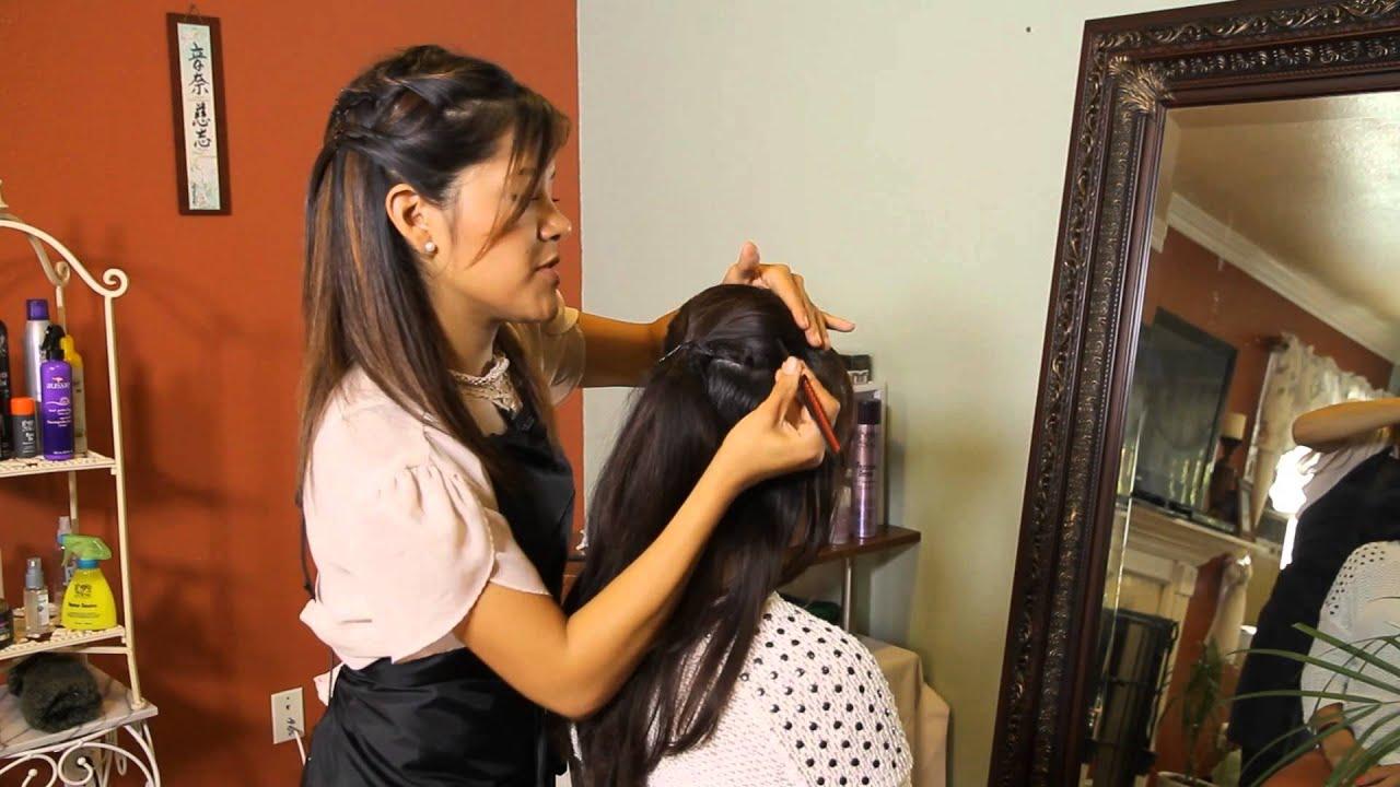 How to Do Penny Pingleton Hair  Tress to Impress  YouTube
