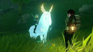 Zelda: BOTW (Hunting Yiga Spies with Lord of The Mountain) thumbnail