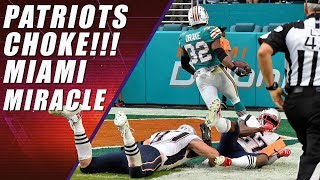 Miami Miracle Win: Patriots Choke on Final Play