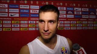 Bogdan Bogdanović Nakon Pobede nad Portorikom na Mundobasketu   SPORT KLUB KOŠARKA