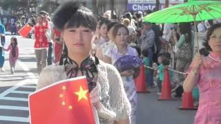 小牧市民祭りパレート華人チャイナドレス2.