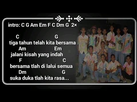 Kunci Gitar + Lirik Lagu Perpisahan Sekolah - Angel 9 Band | MASA SMA    Merinding Dengernya....!!!