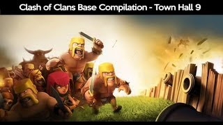 clash of clans best town hall 9 bases of 2013 th9