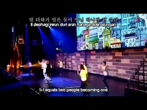 Super Junior D&E - 1+1=LOVE [HAN+ROM+ENG]