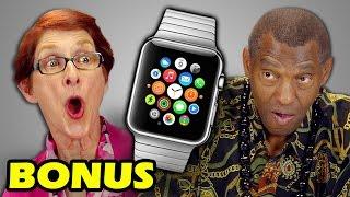 ELDERS REACT TO APPLE WATCH (Bonus #57)