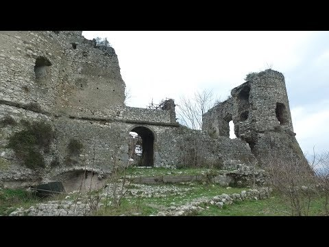 Ancient Exploring: Medieval Castle of Vairano Patenora, Italy Part 2