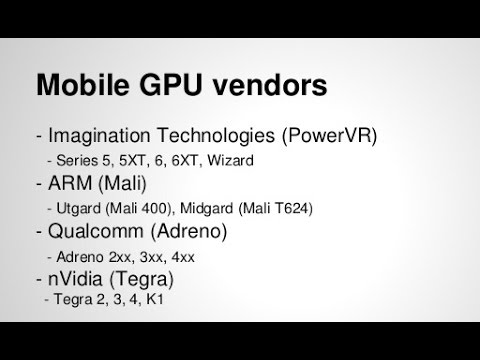 How to know your GPU renderer (Adreno, Mali, Power VR, Tegra)
