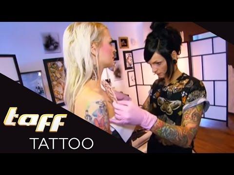 COVER UP: Mit schrecklichem DEKOLLETE-Tattoo lässt sich kein CONTEST gewinnen!   taff Tattoo