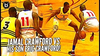 vuclip Jamal Crawford vs HIS SON Eric Crawford!! When You Gotta Guard Your Dad But He's J Crossover