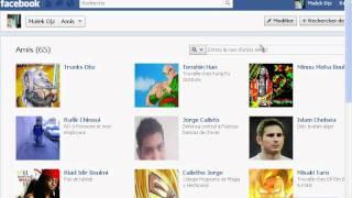 comment cacher votre liste d'amis Facebook