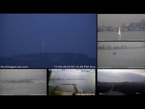 San Diego Web Cam   Live Multi-cam Stream