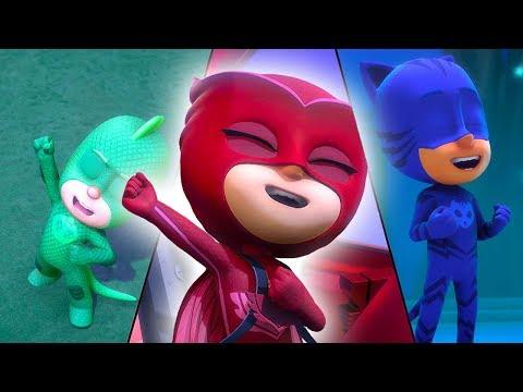 PJ Masks Deutsch Pyjamahelden Catboy, Eulette und Gecko! 2   Cartoons für Kinder