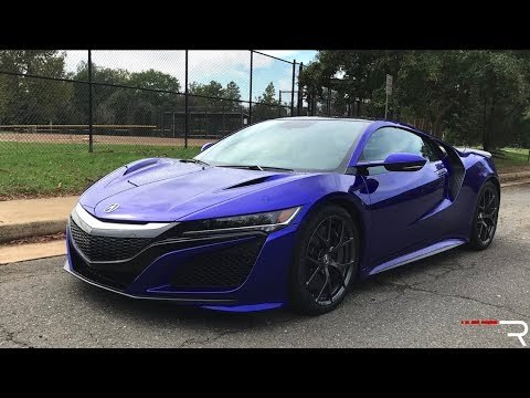 2018 Acura NSX – A Supercar That Will [Literally] Sneak Up On You