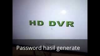 085731335777 Reset dvr h.264 password Hisomu | Secure | Vtech | AS | Dahua | Cina | Techvision