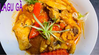 [ENG] LAGU GÀ / RAGU GÀ -Cách Nấu LAGU GÀ Lên Màu Đẹp Thơm Ngon Ăn Bánh Mì 🥖VIETNAMESE CHICKEN STEW
