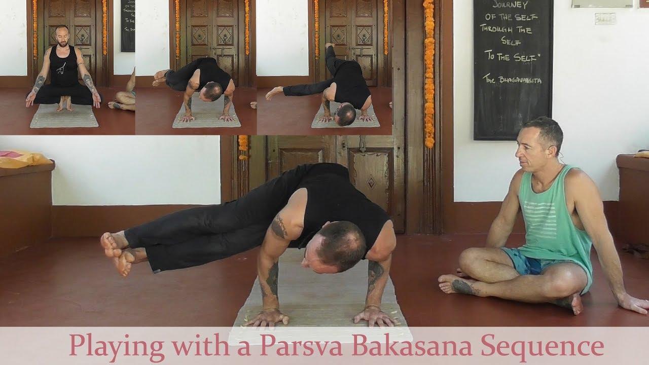 Playing With Parsva Bakasana Variations