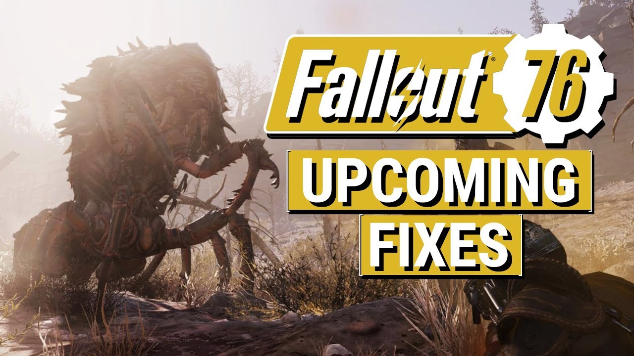 FALLOUT 76: Stash Limit Increase and FOV Slider COMING SOON!! (Bethesda  Shares Upcoming Fixes)