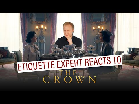 Etiquette expert reacts to Netflix's The Crown