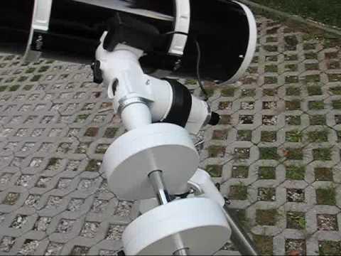 Reflektor skywatcher newton 200 1000 eq5 youtube