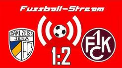 Geisterspiel-Stream #3 - FC Carl Zeiss Jena vs. 1. FC Kaiserslautern