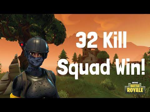 32 KILL SQUAD GAME!!! |