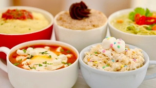 Microwave Mug Meals Worldwide (Mug Churro, Calzone, Rice Krispie Treat & More!) Bigger Bolder Baking