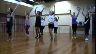 Advanced Jazz Dance Class - Diamonds are a Girl