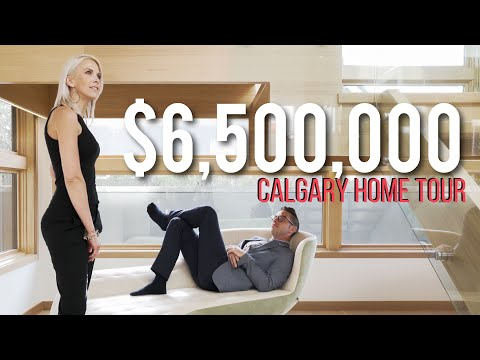 Inside a $6.5 MILLION Luxury Home in Calgary! - Million Dollar Tours Ep.1