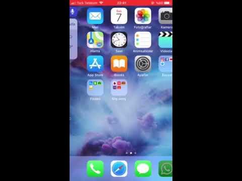 Ios 11 de sesli ekran videosu çekme
