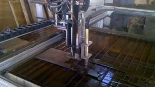 Plasma cutting model ship ribs