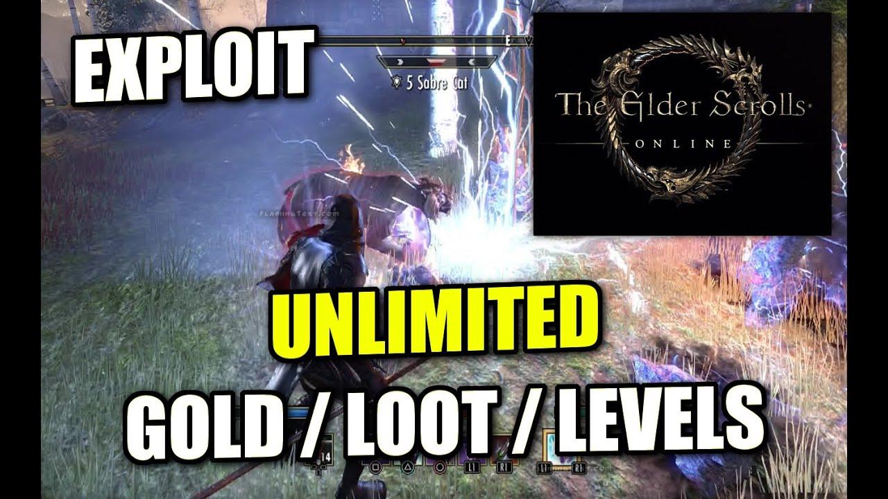 ELDER SCROLLS ONLINE - PS4 - UNLIMITED GOLD / LOOT / LEVELS