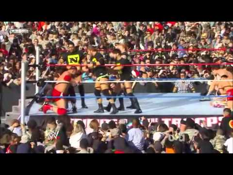 WWE Tribute To The Troops 15-Man Battle Royal FULL HDTV