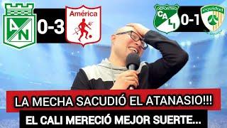 NACIONAL 0 VS AMERICA 3: REMONTADA LOCA! EXPERTICIA Y OFICIO ESCARLATA VS INOCENCIA VERDOLAGA...