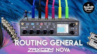 FR / Zaxcom Nova Tutoriel Ep3 : Routing Général - Inputs, Fader bank assign, Mix track