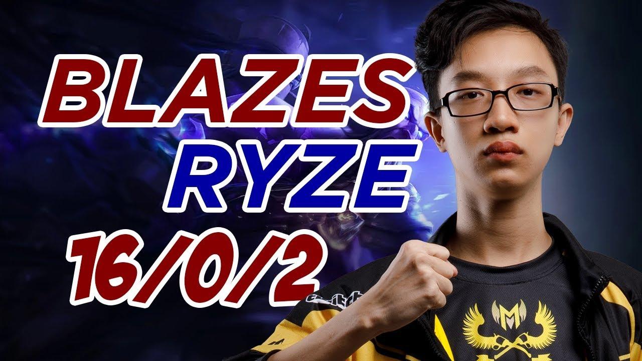 Blazes bất tử với Ryze [GAM Esports Highlight]
