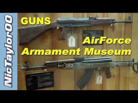 GUNS ! - AirForce Armament Museum - Eglin Air Force Base, Florida