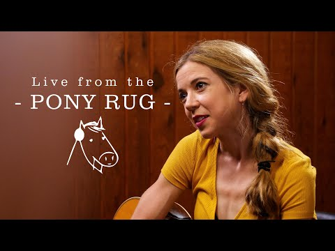 """Sarah Morris - """"Don't Come Clean"""" (Live on Pony Rug)"""