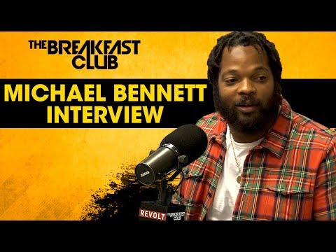 Michael Bennett On 'Things That Make White People Uncomfortable', Standing Up For Issues + More