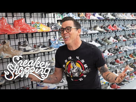 Steve-O Goes Sneaker Shopping With Complex