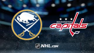 Ovechkin, Kuznetsov power Caps to 5-1 win vs. Sabres